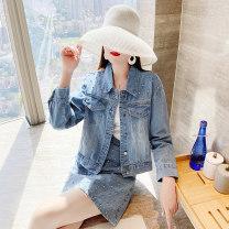Fashion suit Autumn 2020 S,M,L,XL,XXL blue Parfait P3309
