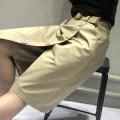 skirt Summer 2021 M,L,XL,2XL Black, camel Middle-skirt commute High waist A-line skirt Solid color Type A 25-29 years old More than 95% brocade Ocnltiy nylon Pocket, strap, stitching Korean version 161g / m ^ 2 (including) - 180g / m ^ 2 (including)