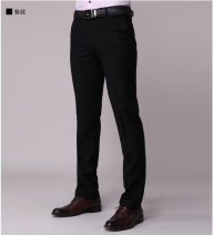 Western-style trousers G2000 Business gentleman black 27,28,29,30,31,32,33,34,35,36,38,40 g2000 trousers Slim fit go to work youth Business Casual Solid color 2020 No iron treatment polyester fiber Arrest line 80% (inclusive) - 89% (inclusive)
