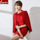 Professional dress suit S M L XL XXL XXXL Suit dress suit + dress Spring 2020 Long sleeves A727+Q727 Coat other styles other 25-35 years old J-ME Polyester 97.9% polyurethane elastic fiber (spandex) 2.1% Pure e-commerce (online only) 96% and above polyester fiber
