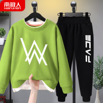 suit NGGGN 110cm 120cm 130cm 140cm 150cm 160cm male spring and autumn leisure time Long sleeve + pants 2 pieces routine There are models in the real shooting Socket nothing Cartoon animation Cotton blended fabric children birthday N2007282004 Class B Cotton 83% polyester 17% Autumn 2020 Yichang City