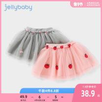 skirt 80cm 90cm 100cm 110cm 120cm 130cm Pink light grayish brown yellow black jellybaby female Other 100% No season skirt princess other Pleats other JQ02026 other Spring 2021