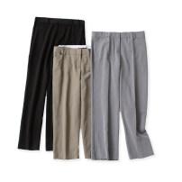 Casual pants Black, bean green (short), black grey, light grey 6,8,12P,14P,16P,12R,14R,16R,18R,16L Autumn 2020 trousers Straight pants High waist commute Thin money Lady Boya Simplicity pocket