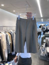 Casual pants Gray, black S,M,L,XL Summer 2021 trousers Straight pants High waist commute routine 18-24 years old 51% (inclusive) - 70% (inclusive) other Korean version pocket Asymmetry