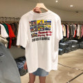 T-shirt White, apricot, dark grey S,M,L,XL Summer 2021 Short sleeve Crew neck easy Regular routine commute other 51% (inclusive) - 70% (inclusive) 18-24 years old Korean version youth
