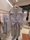 Dress Summer 2021 grey S,M,L,XL Mid length dress singleton  Long sleeves commute other Solid color other other routine Others 18-24 years old Korean version 31% (inclusive) - 50% (inclusive) other other