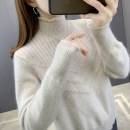 sweater Winter 2020 S M L XL Rose red rice white brown red blue turmeric Long sleeves Socket singleton  Regular other 95% and above High collar Regular commute routine Solid color Straight cylinder Regular wool Keep warm and warm You've got to go J18300 thread Other 100% Pure e-commerce (online only)