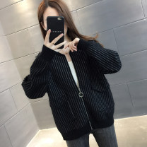 Wool knitwear Spring 2020 S M L XL Black Beige Long sleeves singleton  Cardigan other More than 95% have cash less than that is registered in the accounts routine commute easy Low crew neck routine zipper Korean version You've got to go Other 100% Pure e-commerce (online only)
