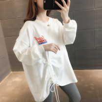 Sweater / sweater Autumn of 2019 Off white green watermelon pink red yellow black S M L XL Long sleeves Medium length Socket singleton  routine Crew neck easy commute routine letter 96% and above You've got to go Korean version other A02206 Other 100% Pure e-commerce (online only)