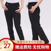 Suit pants / suit pants One foot nine, two feet, two foot one, two foot two, two foot three, two foot four, two foot five, two foot six, two foot eight, two foot seven Black, thickened in autumn and winter Autumn 2012 Self cultivation High waist trousers routine Self made pictures k001