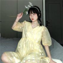 Dress Summer 2020 Picture color Average size Middle-skirt singleton  Short sleeve commute Korean version