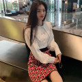 Fashion suit Autumn of 2019 Average size Shirt skirt Xingguang Gang DD9184 Polyester 100% Pure e-commerce (online only)