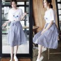 Dress Spring of 2018 T-shirt + skirt [suit] S,M,L,XL,XXL other other other other other other Other / other fKFYXGk5 other other