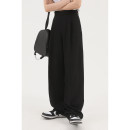 Casual pants MASON&PRINCE Youth fashion black S=1,M=2,L=3,XL=4 routine trousers Other leisure Straight cylinder spring 2021
