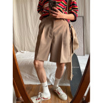 Casual pants MASON&PRINCE Youth fashion routine Pant Other leisure Straight cylinder No bullet summer teenagers 2020 middle-waisted Straight cylinder Solid color