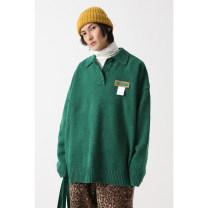 T-shirt / sweater MASON&PRINCE Youth fashion XS=0,S=1,M=2,L=3,XL=4 Socket Lapel Long sleeves