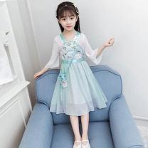 Dress female Other / other Polyester fiber 93.2% polyurethane elastic fiber (spandex) 6.8% summer princess Short sleeve Broken flowers cotton Princess Dress 3585655656558 other 8, 7, 3, 6, 13, 11, 5, 10, 4, 9, 12, 14 Chinese Mainland Zhejiang Province Huzhou City Green, pink