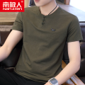T-shirt Youth fashion thin 165 170 175 180 185 NGGGN Short sleeve Crew neck Self cultivation Other leisure summer Cotton 70% polyamide 30% teenagers routine tide other Summer of 2019 Solid color printing other Animal design No iron treatment Domestic famous brands Pure e-commerce (online only)