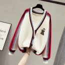 Wool knitwear Winter of 2019 S M L XL white Long sleeves singleton  Cardigan other More than 95% Regular thickening commute easy V-neck routine Solid color Single breasted Korean version SOM801811 18-24 years old Saronala / saonara Other 100% Pure e-commerce (online only)