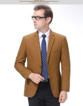 man 's suit As shown in the picture*~ Others other thick 185/52,180/50,170/46,175/48,190/54 MLU5408 Extra wide A double breasted button Other leisure Double slit Long sleeves routine lattice