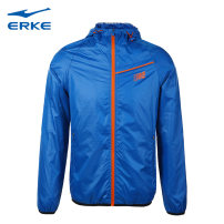 Sports jacket / jacket Erke / hongxingerke male 2XL 3XL m (adult) l (adult) XL (adult) 216315216-928 Autumn of 2019 Hood zipper Brand logo Sports & Leisure Warm and windproof Sports life yes
