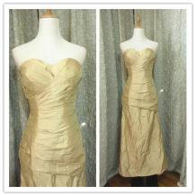 Dress / evening wear Wedding adult party company annual meeting performance M khaki Poplin