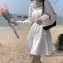 Dress Summer 2021 white S M L XL 2XL 3XL Middle-skirt 18-24 years old Butterfly Lake Bay AFK1281 More than 95% other Other 100%