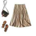 skirt Summer 2020 S,M,L Khaki, black A-line skirt Type A 30% and below Other / other hemp