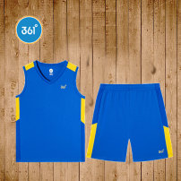 Sports suit Ben White Electronic blue vitality red N51921463 361° male 130 140 150 160 170 Sleeveless Crew neck shorts Socket Spring 2020 Sports & Leisure Sports life other yes City Park