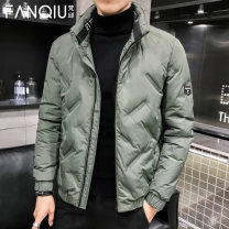 Down Jackets [small] 902 stand collar green [small] 902 stand collar black 905 hooded Khaki 905 hooded black 905 bean grey 9016 Khaki 905 hooded bean grey 228 hooded black 228 hooded bean grey 228 hooded Khaki Fanqiu White duck down M L XL 2XL 3XL 4XL 5XL Youth fashion Other leisure thin 80% DYRF9902