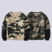 Sweater / sweater Warren land / Cheng paradise Camouflage green, camouflage Khaki male spring and autumn nothing leisure time Socket routine There are models in the real shooting other other Cotton 90% polyurethane elastic fiber (spandex) 10% 812wy046 Cotton liner