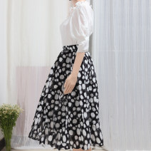 skirt Spring 2021 Average size Picture color Mid length dress commute High waist A-line skirt Decor Type A 25-29 years old suxiaoxi4896537569852 More than 95% other Other / other cotton literature 201g / m ^ 2 (including) - 250G / m ^ 2 (including)