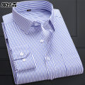 shirt Business gentleman Obutlten / obison 38/M 39/L 40/XL 41/2XL 42/3XL 43/4XL 44/5XL routine square neck Long sleeves Self cultivation go to work C8361-yanlu youth Polyester 60% cotton 40% stripe Autumn of 2019 Pure e-commerce (online only)