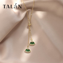 Necklace other 30-39.99 yuan Taran brand new Japan and South Korea female goods in stock yes Fresh out of the oven 21cm (inclusive) - 50cm (inclusive) no Below 10 cm other other other other Winter of 2019 no Pure e-commerce (online only)