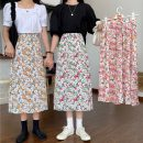 skirt Summer 2021 Average size Pink, yellow, green Mid length dress commute High waist A-line skirt Broken flowers Type A 18-24 years old W0410 30% and below other Other / other Korean version 401g / m ^ 2 (inclusive) - 500g / m ^ 2 (inclusive)