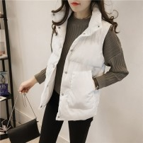 Vest Winter 2020 White [quality version], gray [quality version] M [recommended 95-105 kg], l [recommended 105-115 kg], XL [recommended 115-130 kg], 2XL [recommended 130-145 kg], 3XL [recommended 145-165 kg], 4XL [recommended 165-180 kg], s [recommended 70-85 kg] stand collar other Solid color other