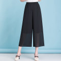 Casual pants black S,M,L,XL,2XL Summer 2021 Ninth pants Thin money 18-24 years old Other / other