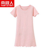Home skirt / Nightgown NGGGN 100cm 110cm 120cm 130cm 140cm 150cm 160cm Cotton 95% polyurethane elastic fiber (spandex) 5% Four seasons female 11-13 years old or over 13 years old 1-3 years old 3-5 years old 5-7 years old 7-9 years old 9-11 years old cotton Autumn of 2018