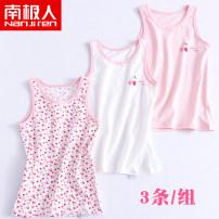 Vest sling Sleeveless 90 100 110 120 130 140 150 160 No season NGGGN female No model lady Pure cotton (95% and above) Cotton 95% polyurethane elastic fiber (spandex) 5% Summer 2020