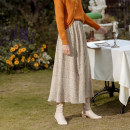 skirt Winter 2020 Average size Mid length dress commute High waist Pleated skirt Broken flowers 25-29 years old 91% (inclusive) - 95% (inclusive) ISISLOVE polyester fiber Retro Polyester 93% polyurethane elastic fiber (spandex) 7% 401g / m ^ 2 (inclusive) - 500g / m ^ 2 (inclusive)