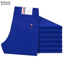 Casual pants Rlextton Fashion City Blue, red, khaki, green, orange, lemon yellow, yellow, white, black, light blue, army green, gray, lake blue, brown, color green 28,29,30,31,32,33,34,35,36,38,40,42,44 thin trousers Other leisure Straight cylinder Micro bomb 9881-AE summer youth Business Casual 2021