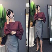 Dress Autumn 2020 Picture color set (high quality stock) S,M,L,XL,2XL