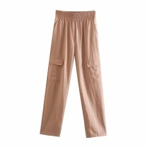 Casual pants As shown in the figure XS,S,M,L Spring 2021 trousers Overalls High waist street routine 18-24 years old 71% (inclusive) - 80% (inclusive) Europe and America