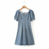 Dress Summer 2020 As shown in the figure S,M,L Short skirt Short sleeve street 18-24 years old 81% (inclusive) - 90% (inclusive) Europe and America