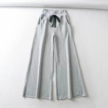Casual pants As shown in the figure S,M,L Winter 2020 trousers Wide leg pants High waist street routine 18-24 years old 71% (inclusive) - 80% (inclusive) Europe and America