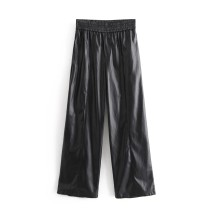 Casual pants As shown in the figure XS,S,M,L Autumn 2020 trousers Wide leg pants High waist street routine 18-24 years old 71% (inclusive) - 80% (inclusive) Europe and America