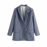 short coat Autumn 2020 XS,S,M,L As shown in the figure Long sleeves routine street 18-24 years old 81% (inclusive) - 90% (inclusive)