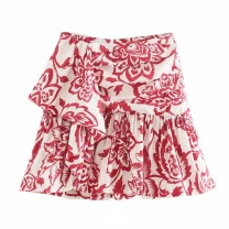 skirt Summer 2020 XS,S,M,L As shown in the figure Short skirt street High waist 18-24 years old 81% (inclusive) - 90% (inclusive) Europe and America