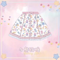 Lolita / soft girl / dress Cat can Lolita SK, if you like it, please collect it first and put it on the market at the end of April S,M,L Summer, spring, spring and autumn Pre sale Lolita, soft girl