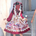 Lolita / soft girl / dress L,M,S Unlimited season, winter, spring, spring and autumn goods in stock Lolita, soft girl
